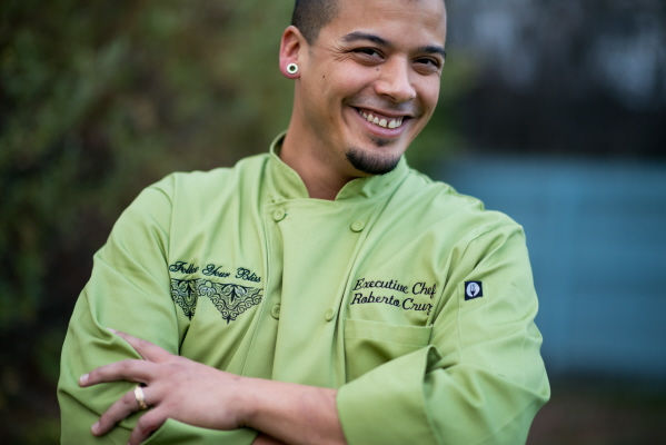 Chef Roberto of Follow Your Bliss Catering